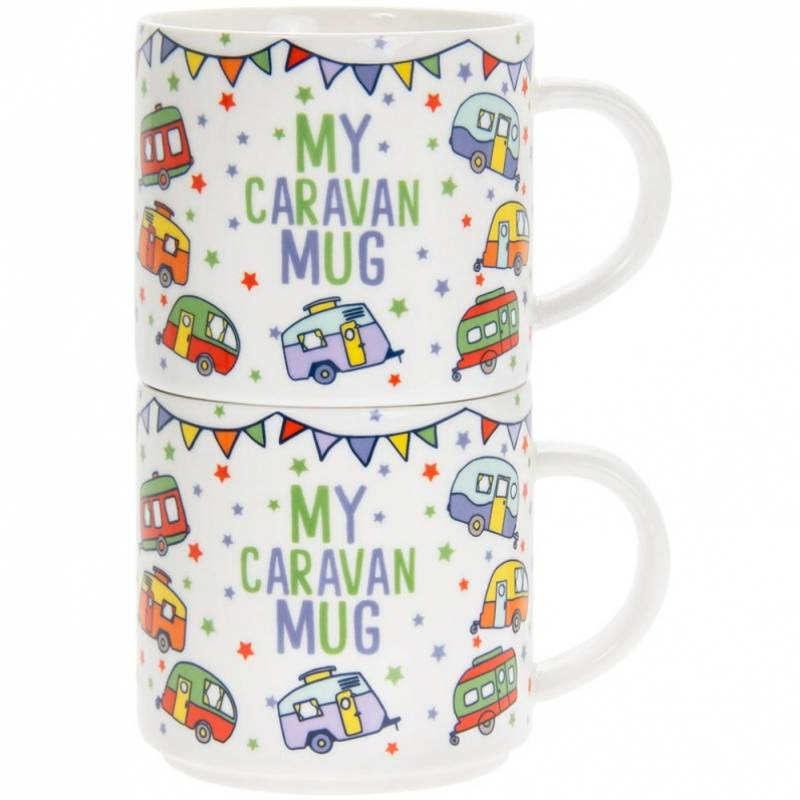 Mum and Dads Caravan Mugs