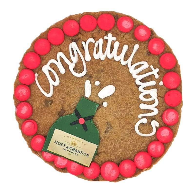 Personalised Congratulations Giant Cookie