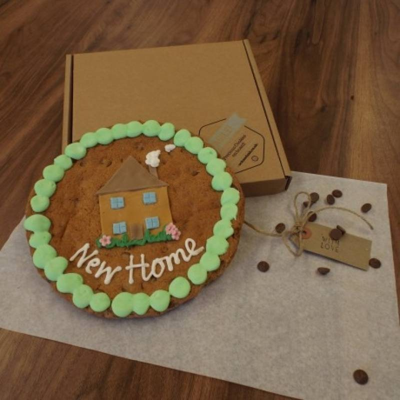 Giant New Home Cookie
