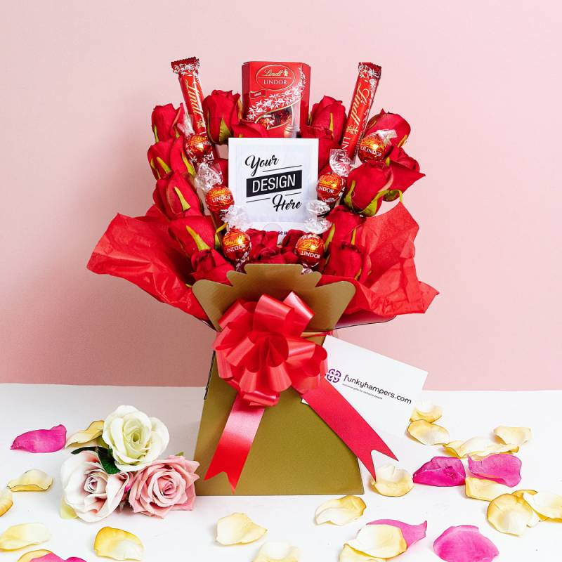Lindor Chocolate Pic Bouquet