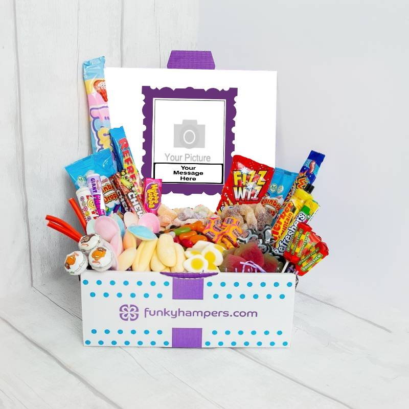 Personalised Deluxe PicBox Sweet Hamper