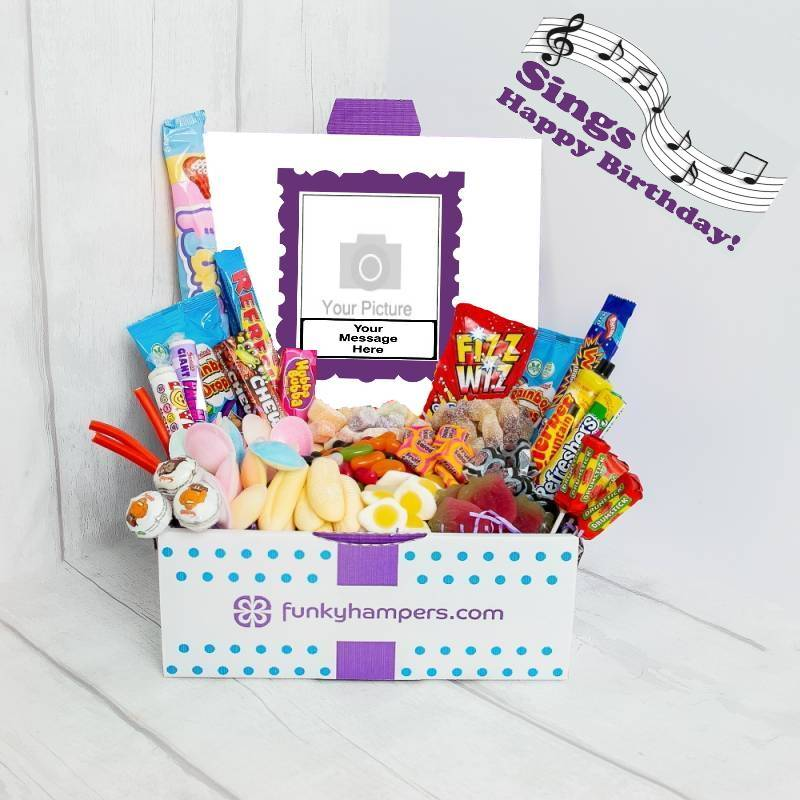 Personalised Musical PicBox Deluxe Sweet Hamper