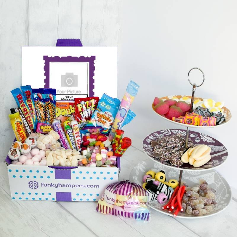 Personalised Super Deluxe PicBox Sweet Hamper