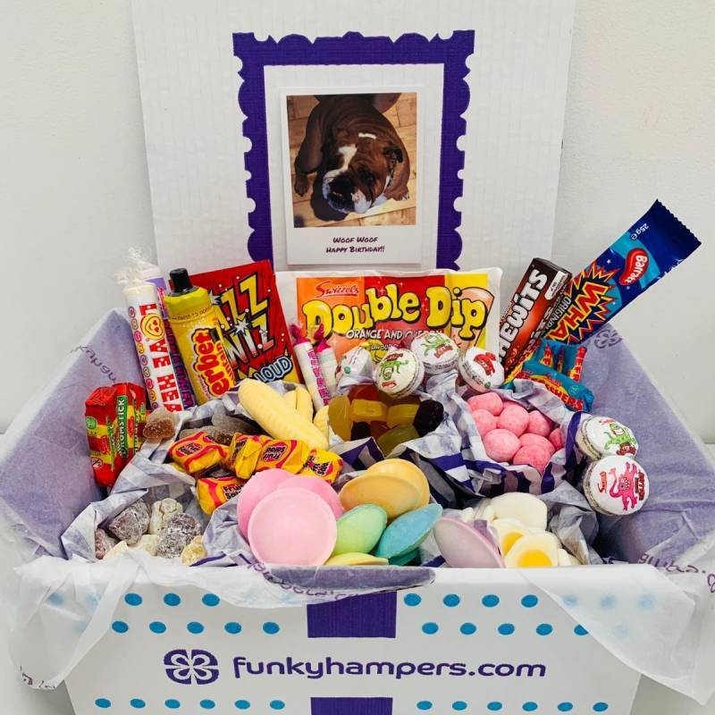 Personalised PicBox Sweet Snack Hamper