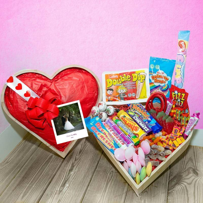 Personalised Love Sweets PicHamper