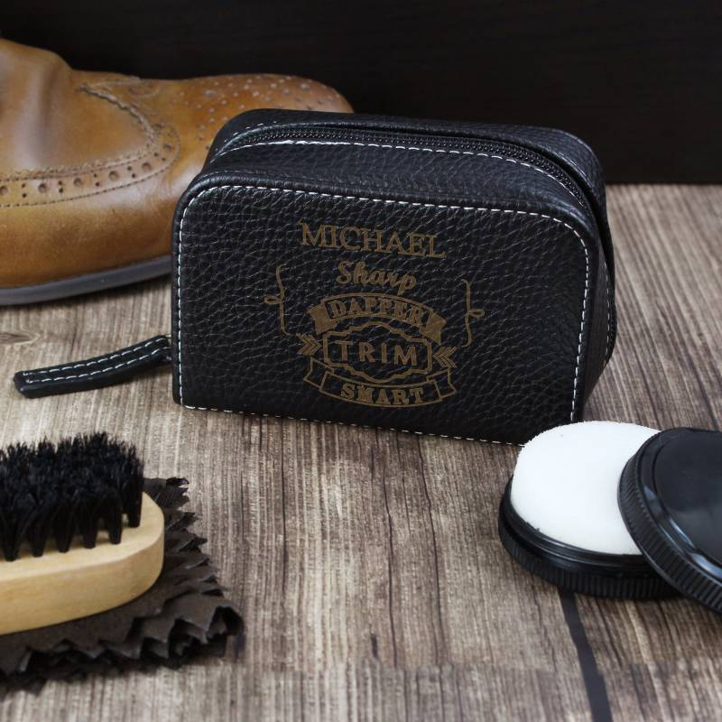 Personalised Shoe Shine Kit