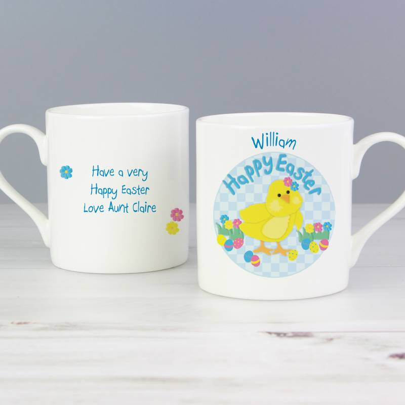Personalised Easter Chick Mug