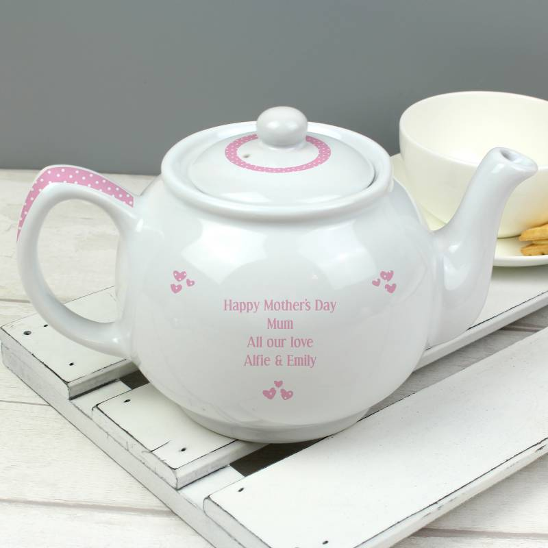 Personalised Worlds Best Teapot