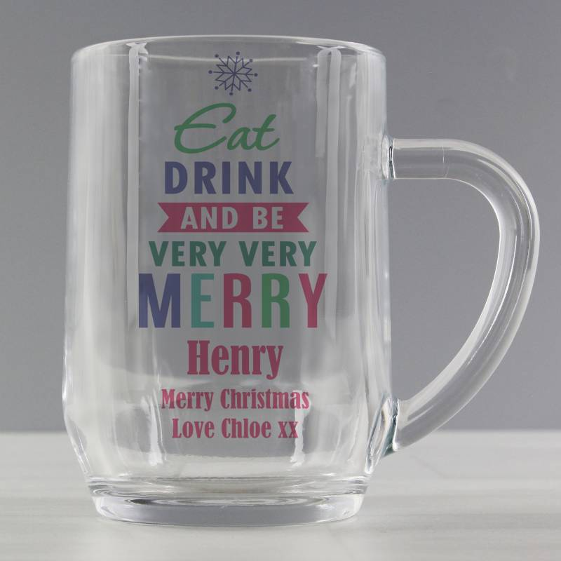Personalised Merry Tankard