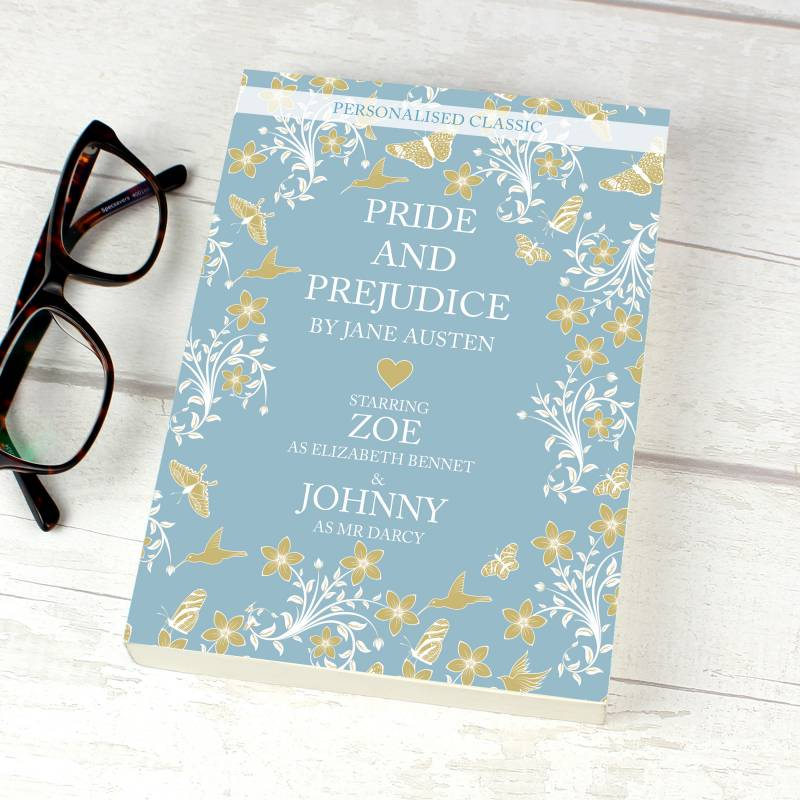 Personalised Pride and Prejudice Novel