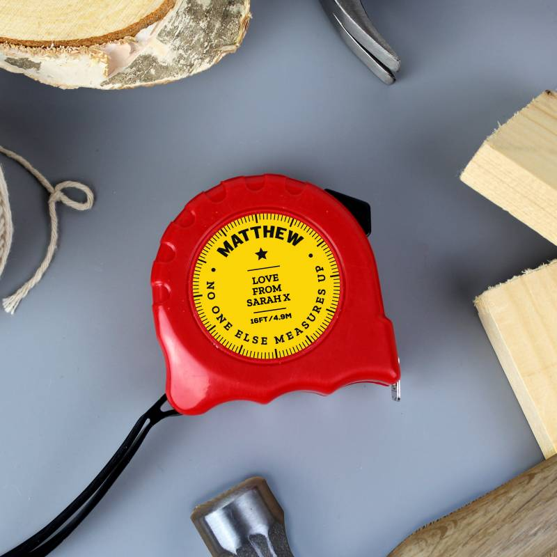 Personalised No One Measures Up Tape Measure