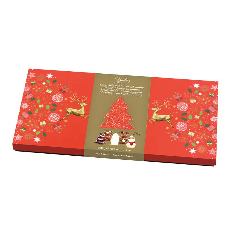 Hamlet Christmas Chocolate Praline Figures 500g