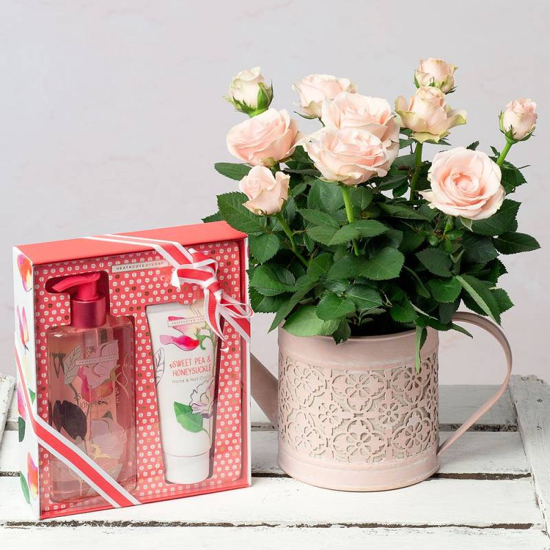 Rose and Hand Care Gift Set