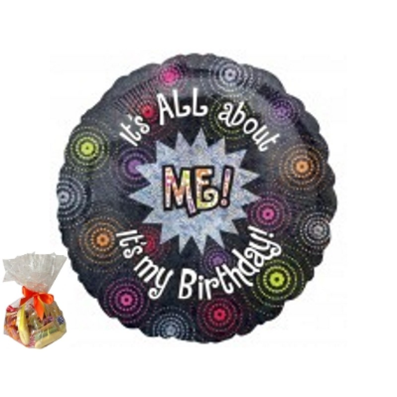 All About Me Birthday Sweet Balloon