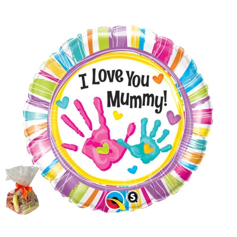 Love You Mummy Sweet Balloon Funky Hampers