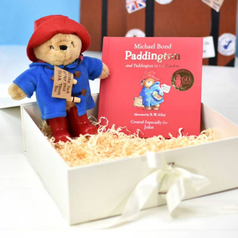 Personalised Paddington Bear Toy and Story Set