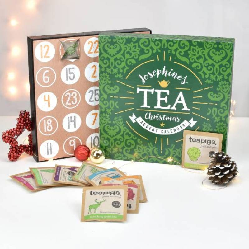 Personalised Teapigs Tea Advent Calendar Funky Hampers