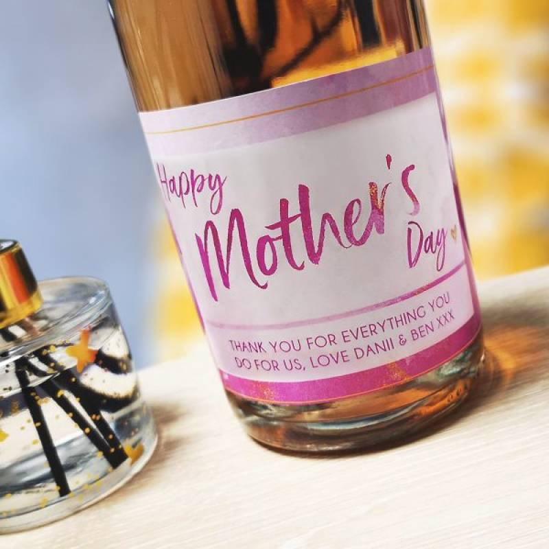 Personalised Mother's Day Prosecco & Reed Diffuser