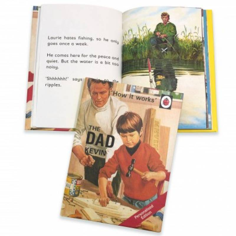 Personalised Ladybird Book The Dad