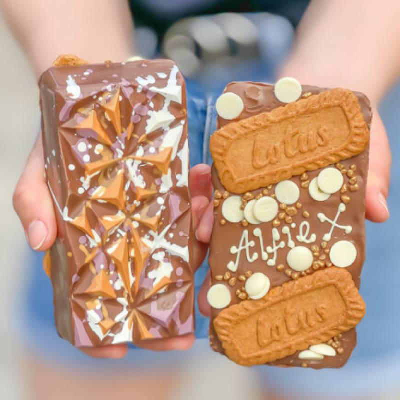 Personalised Biscoff Loaded Choco Bloc