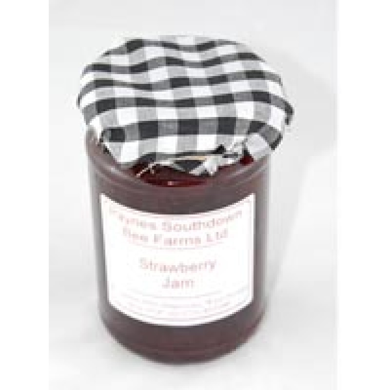 Jar Of Farmhouse Strawberry Jam