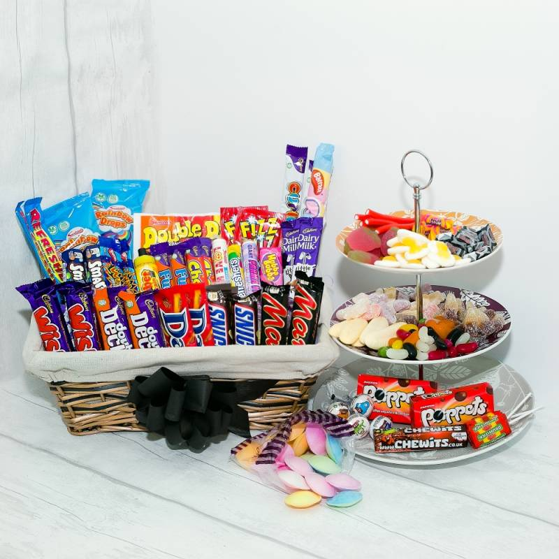 Mega Mix Sweet Hamper 18th Birthday