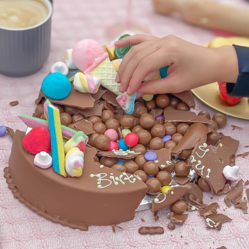 Pick N Mix Smash Cake