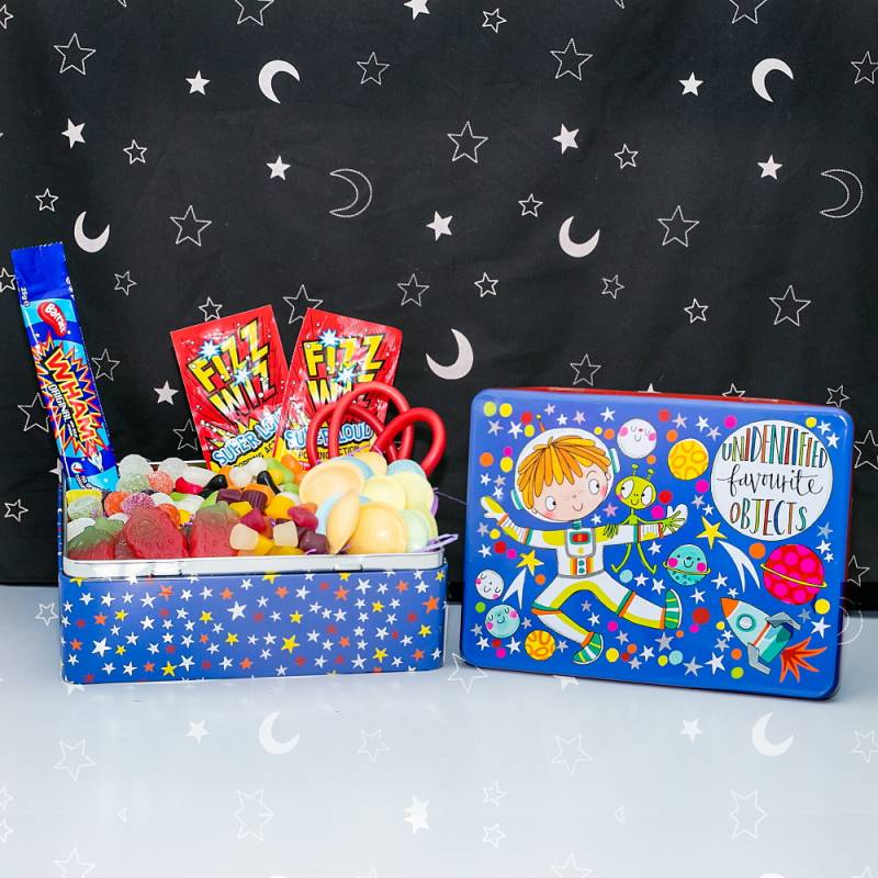 Kids Unidentified Favourite Objects Sweets Tin