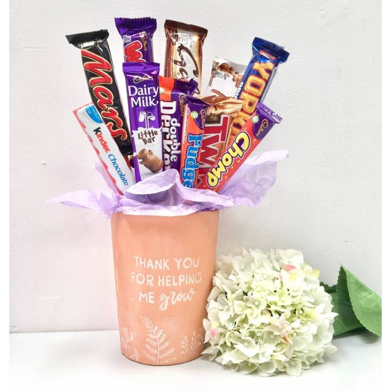 Thank You For Helping Me Grow Chocolate Bouquet