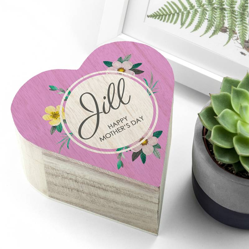 Personalised Mothers Day Trinket Box