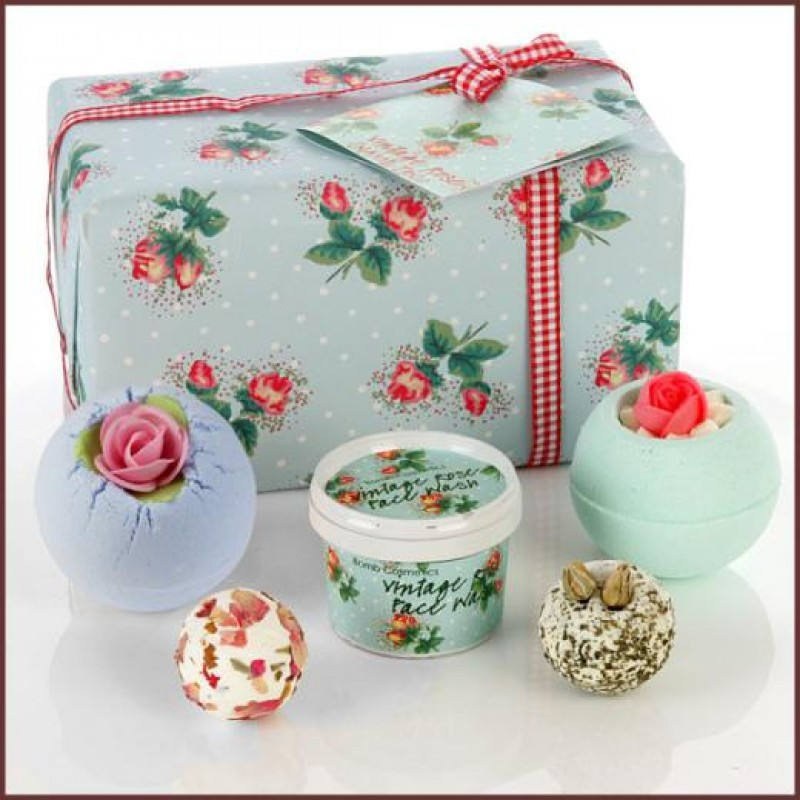 Vintage Rose Bath Bombs