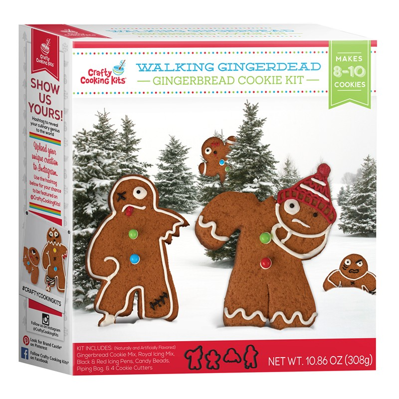 Walking Gingerdead Cookie Kit