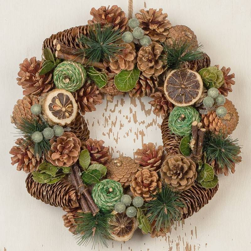 Festive Spice Wreath