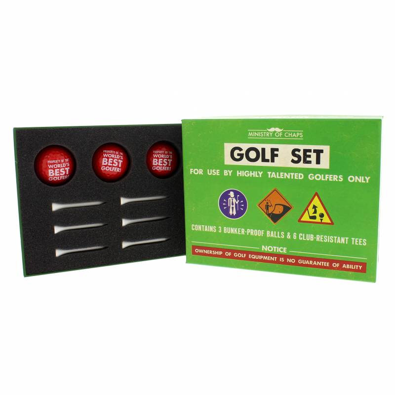 Worlds Best Golfer Set