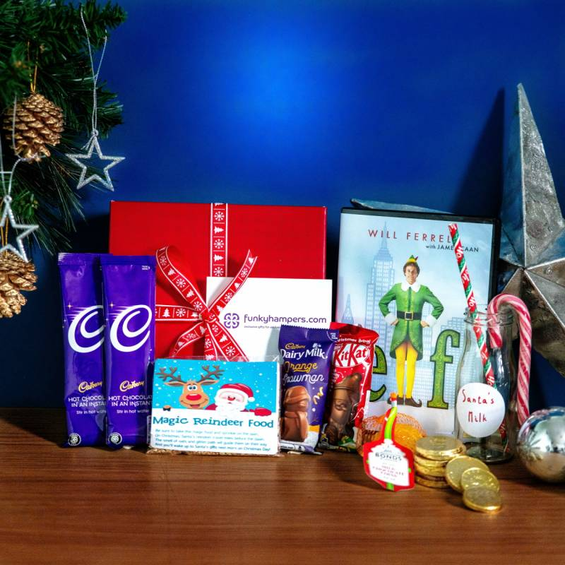 Christmas Gift Baskets For Kids.Kids Christmas Eve Essentials Box Funky Hampers