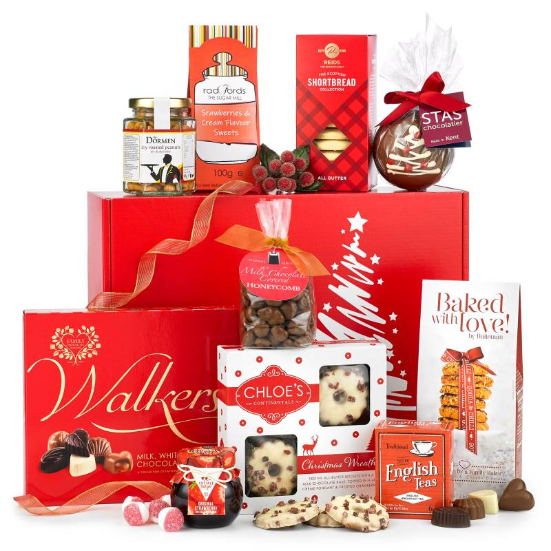 Christmas Hamper Basket.Gift Hampers With A Difference Funky Hampers