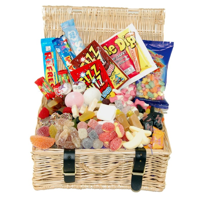 Food Basket Gifts For Christmas
